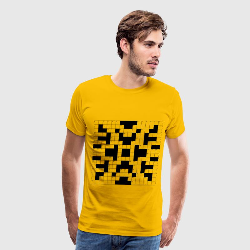 Crossword Puzzle - Men's Premium T-Shirt