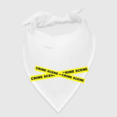 Crime Scene Tape Bottles & Mugs - Bandana