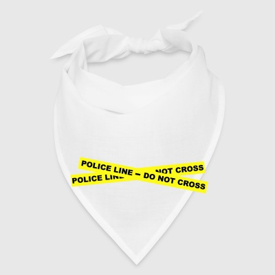Police Line - Do Not Cross Bottles & Mugs - Bandana