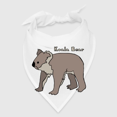 koala bear Bottles & Mugs - Bandana