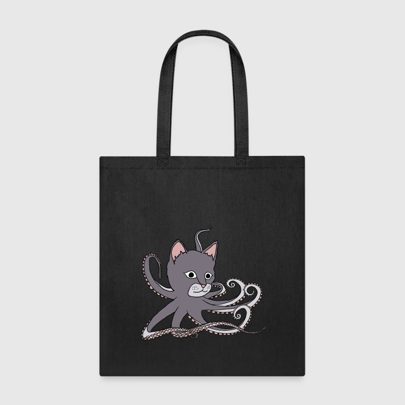 cat octopus Bags & backpacks - Tote Bag