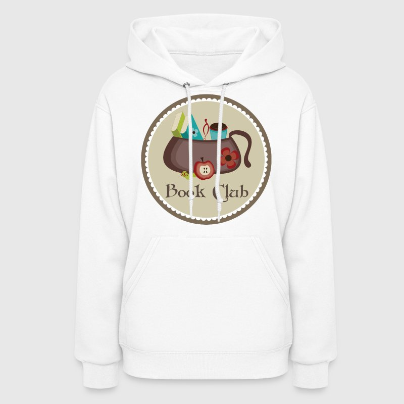 Book Club Cute Pretty Hoodies - Women's Hoodie