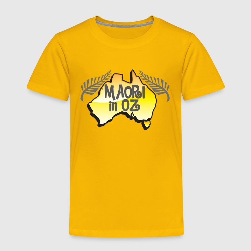 MAORI in OZ (Australia) New Zealand Baby & Toddler Shirts - Toddler Premium T-Shirt