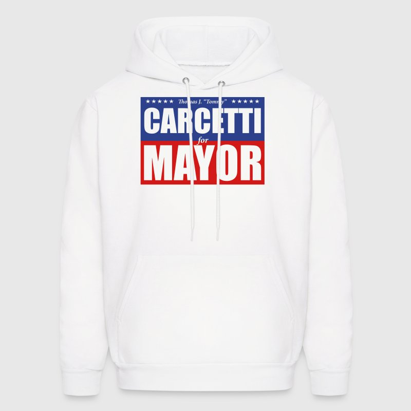 Carcetti for Mayor Hoodies - Men's Hoodie