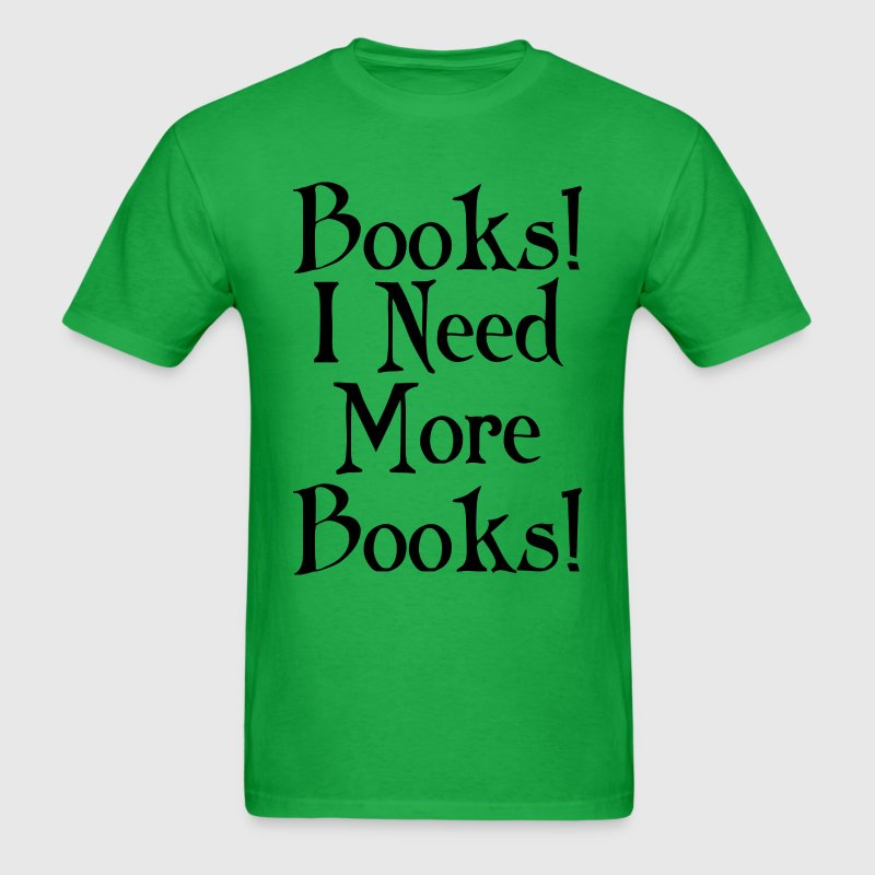 Book Lover Reader Funny T-Shirts - Men's T-Shirt