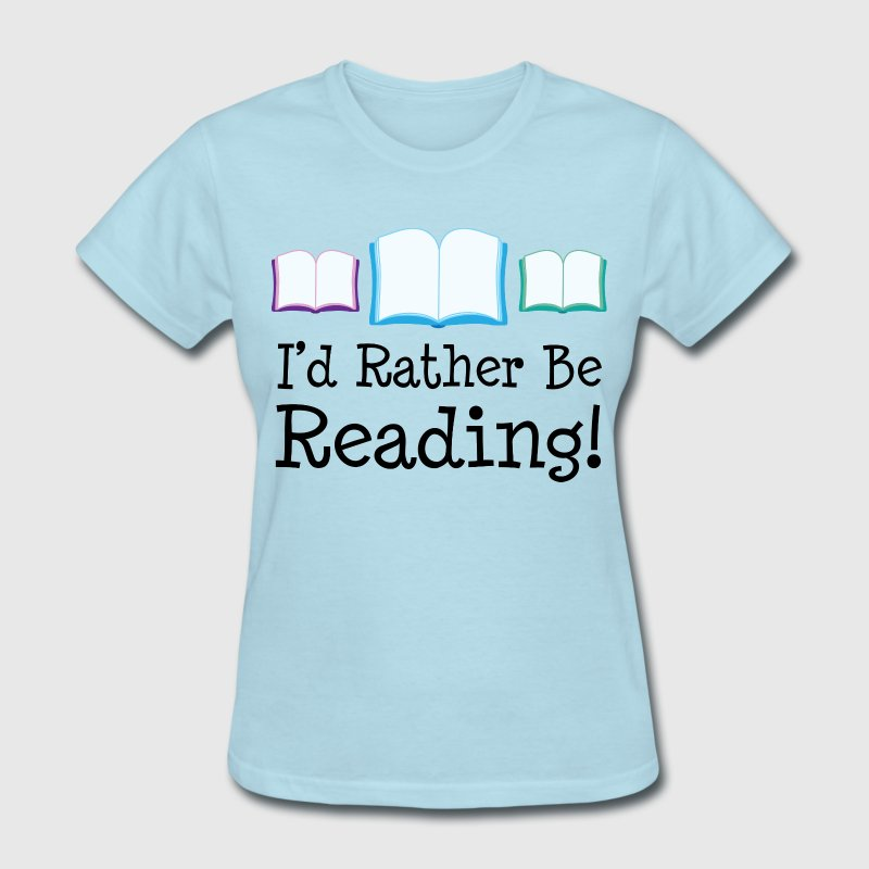 Reading Reader Book Lover Women's T-Shirts - Women's T-Shirt
