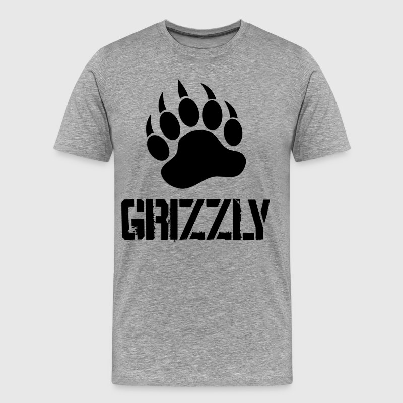 Grizzly Paw - Men's Premium T-Shirt