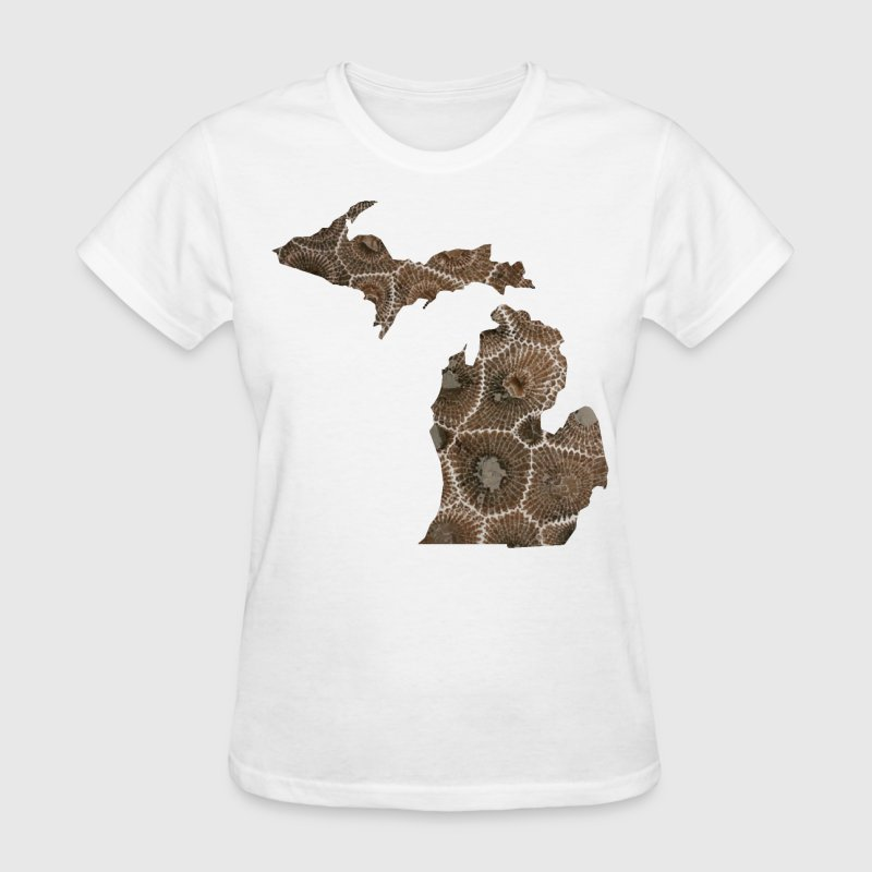 Michigan Petoskey Stone Cute Funny Pure Apparel  Women's T-Shirts - Women's T-Shirt