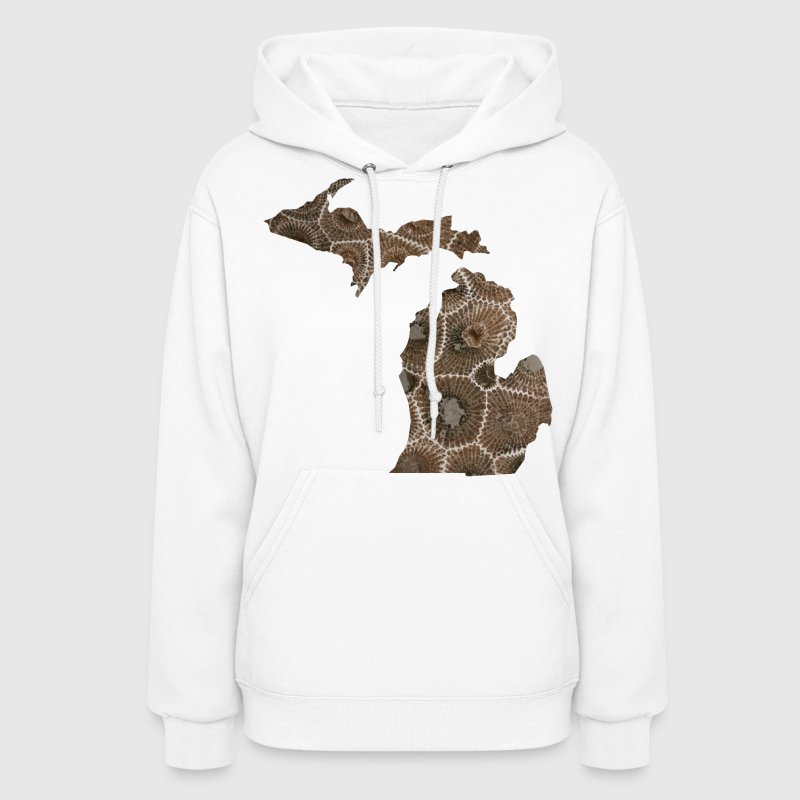 Michigan Petoskey Stone Cute Funny Pure Apparel  Hoodies - Women's Hoodie