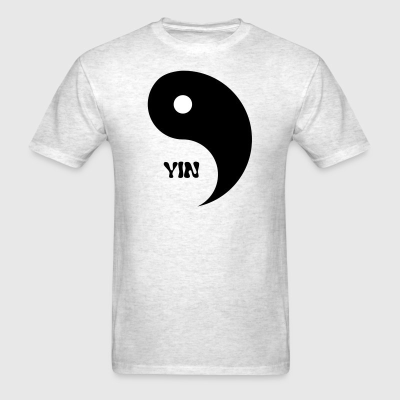 Yin (Yin- Yang Couples Design) T-Shirts - Men's T-Shirt