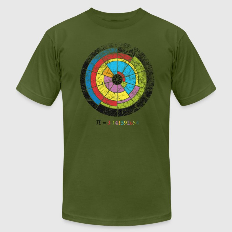 pi crop circle T-Shirts - Men's Fine Jersey T-Shirt