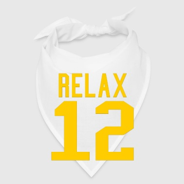 Relax 12 in Yellow - Bandana