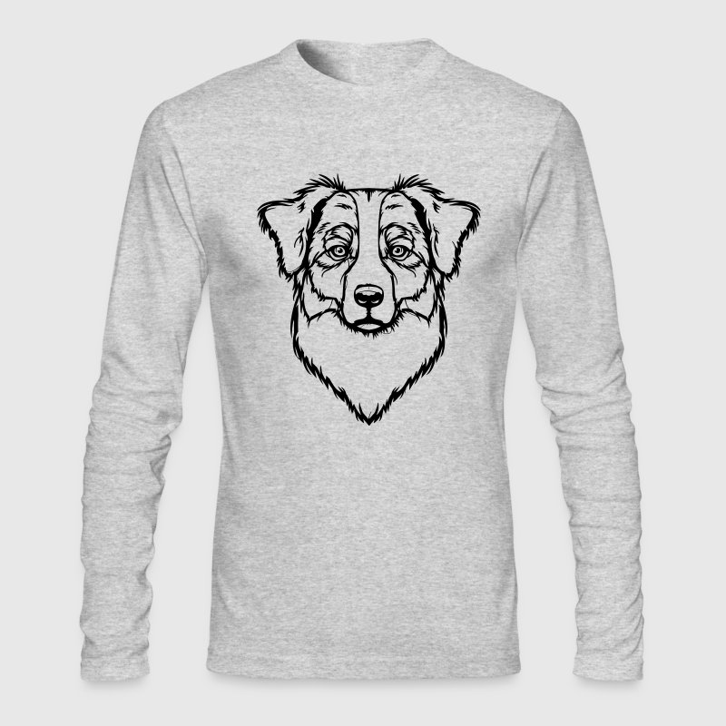Australian Shepherd Long Sleeve Shirts - Men's Long Sleeve T-Shirt by Next Level
