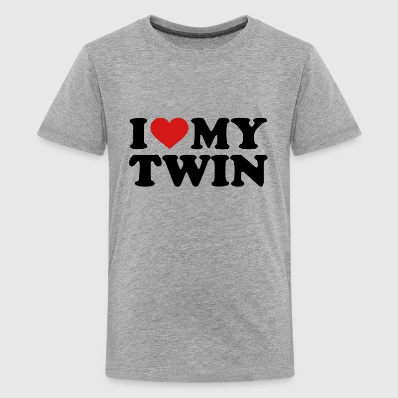 I love my twin Kids' Shirts - Kids' Premium T-Shirt