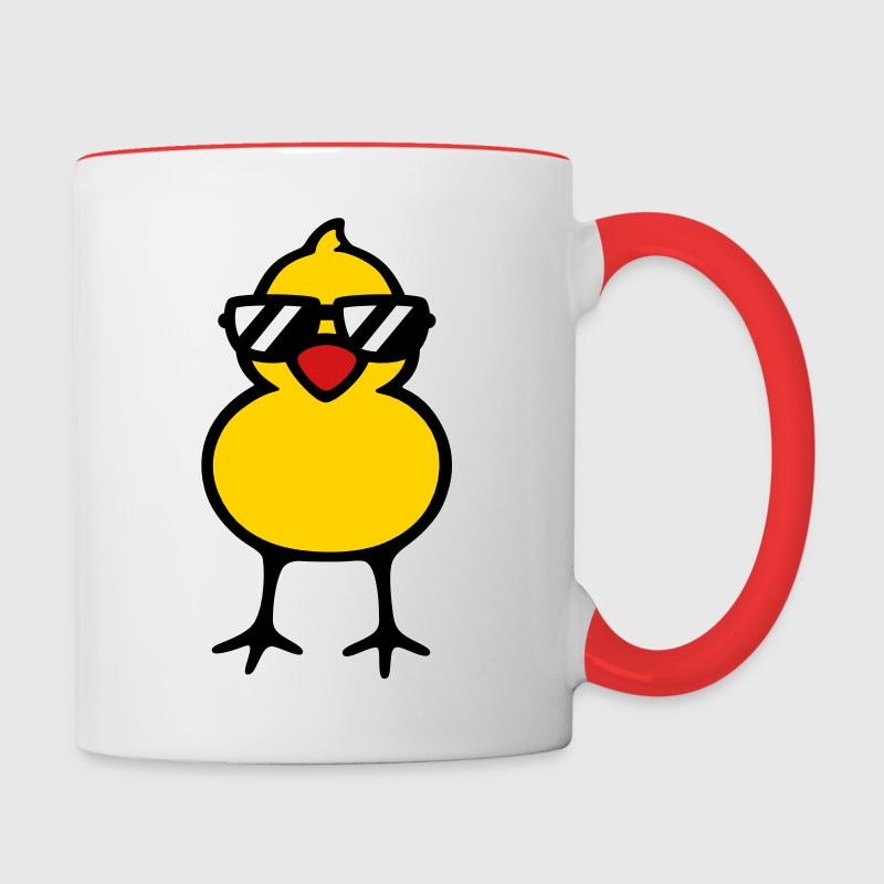 Cool Chick Mugs & Drinkware - Contrast Coffee Mug