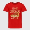 Funny Parody Chicago Style Deep Dish Pizza Shirt T Baby & Toddler Shirts - Toddler Premium T-Shirt