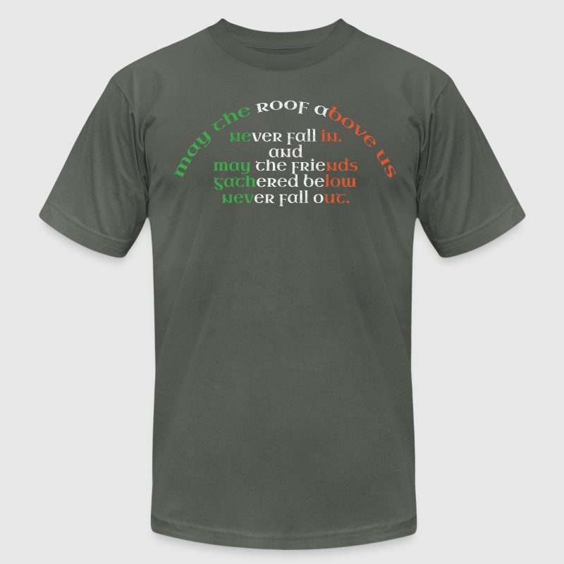 Irish Ireland Gaelic Celtic Sayings Funny Cute Tee T-Shirts - Men's T-Shirt by American Apparel