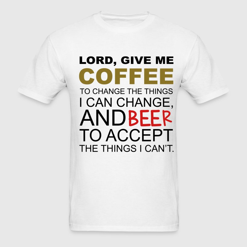 Coffee Beer T-Shirts - Men's T-Shirt