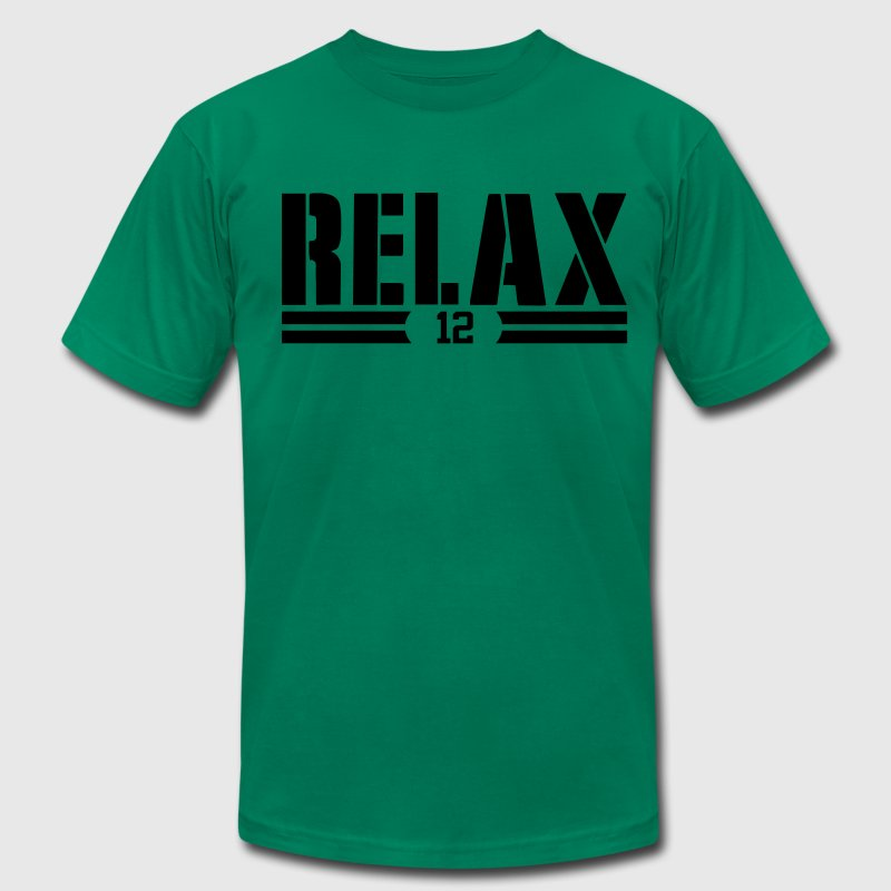 AARON-SAYS-RELAX T-Shirts - Men's Fine Jersey T-Shirt