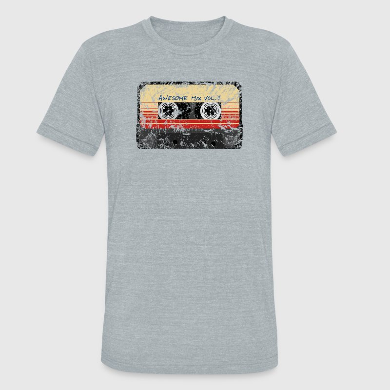 Awesome Mix Tape Vol.1 T-Shirts - Unisex Tri-Blend T-Shirt by American Apparel