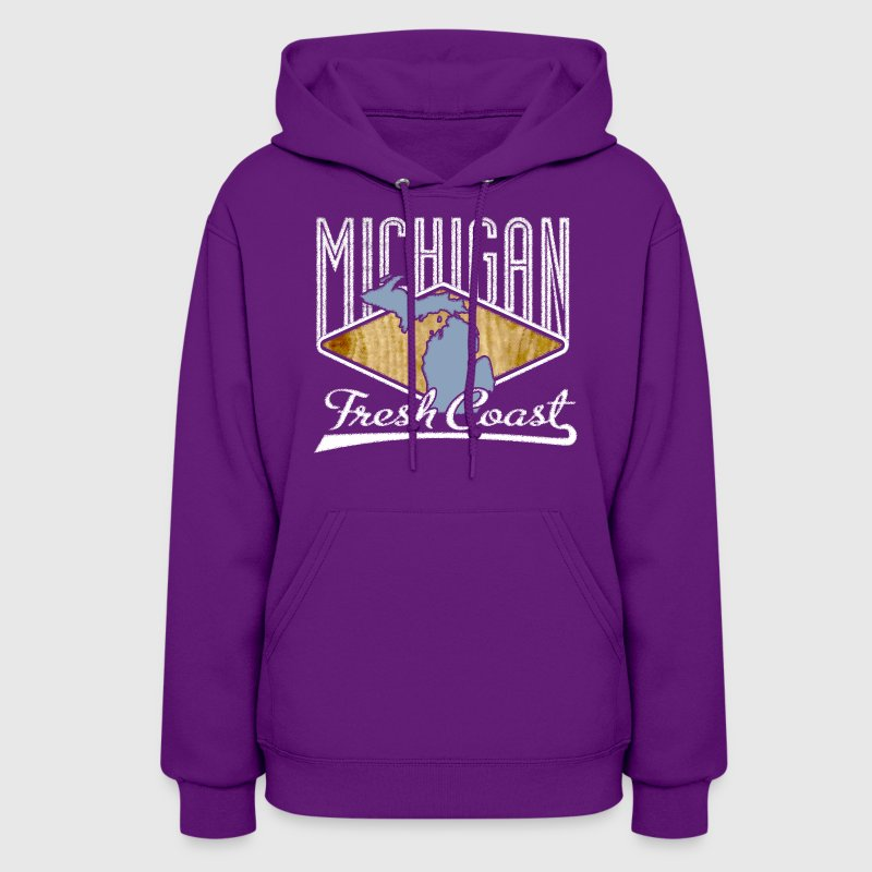 Michigan Fresh Coast Great Lakes Apparel T-Shirt T Hoodies - Women's Hoodie