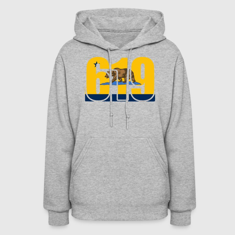619 San Diego Bolts California Bear Shirt T-Shirt  Hoodies - Women's Hoodie