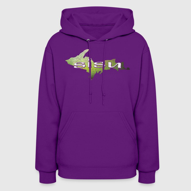 U.P. SISU Upper Peninsula Michigan Finland Finnish Hoodies - Women's Hoodie