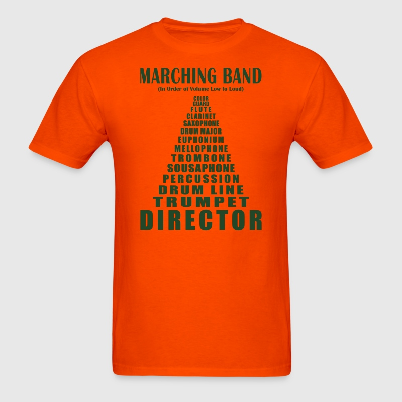 Marching band volume t shirt spreadshirt for Band t shirt designs for sale