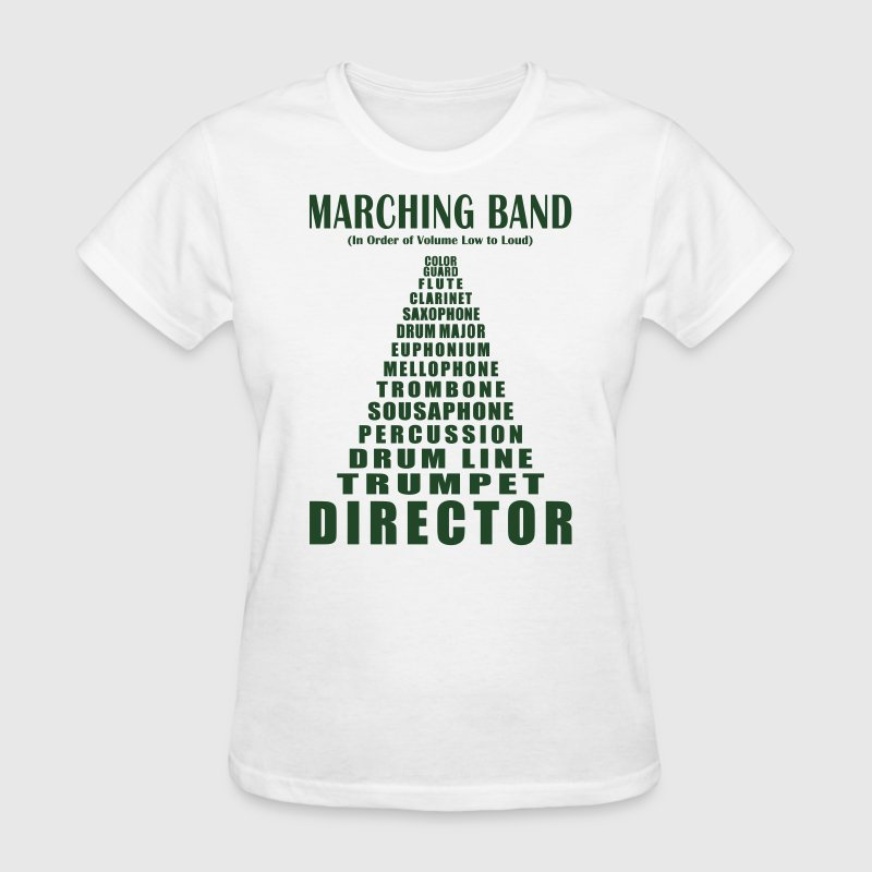 Marching Band Volume T Shirt Spreadshirt