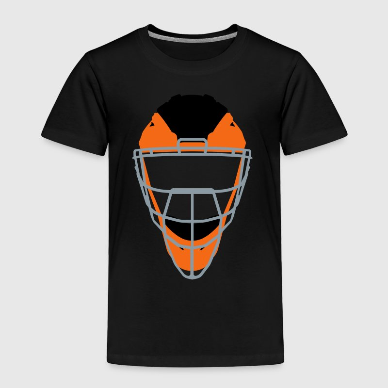 Catchers Mask Baby & Toddler Shirts - Toddler Premium T-Shirt