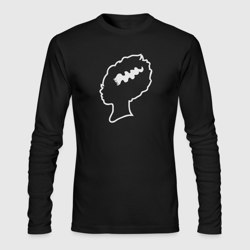 Bride of Frankenstein Long Sleeve Shirts - Men's Long Sleeve T-Shirt by Next Level