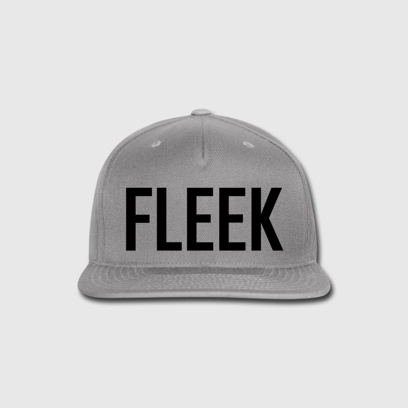 FLEEK SNAPBACK HAT - Snap-back Baseball Cap