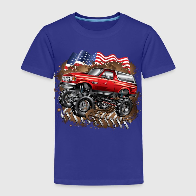 Mud Truck Ford Bronco Baby & Toddler Shirts - Toddler Premium T-Shirt