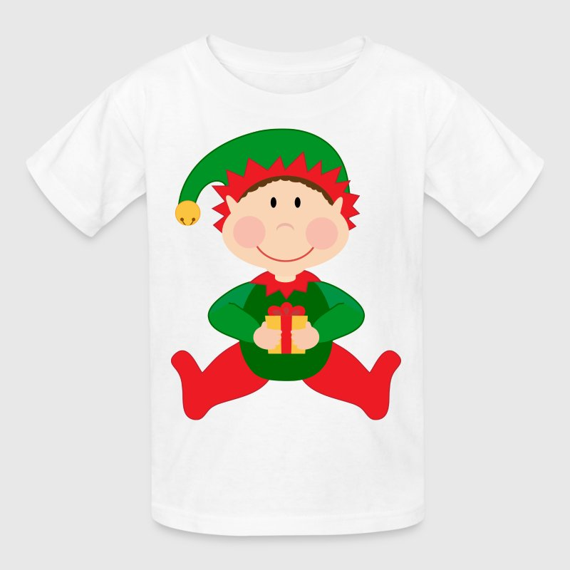 Christmas Kids Elf Cute Kids' Shirts - Kids' T-Shirt