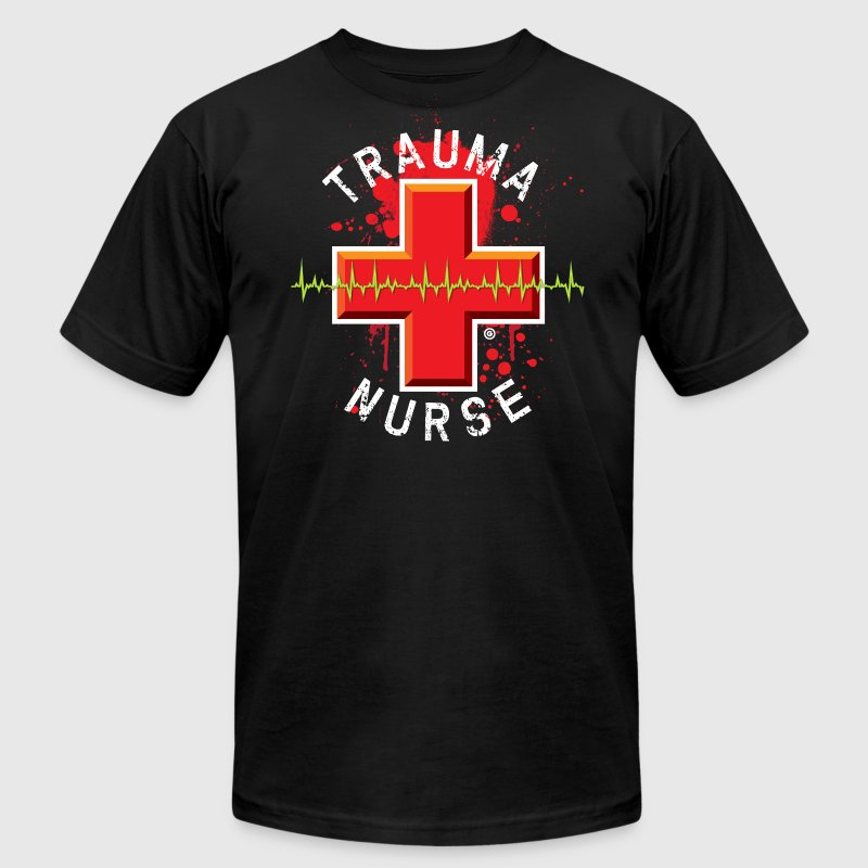 Trauma Nurse - Men's T-Shirt by American Apparel