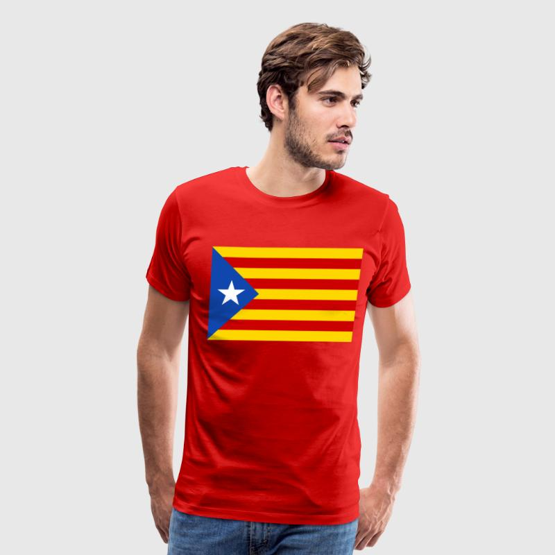 flag of catalunya T-Shirts - Men's Premium T-Shirt