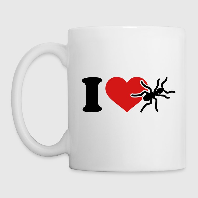 I love Ants Mugs & Drinkware - Coffee/Tea Mug