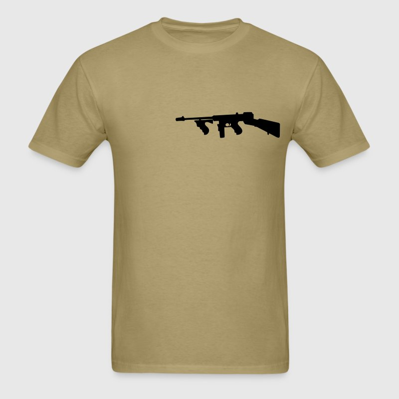 thompson  gun T-Shirts - Men's T-Shirt