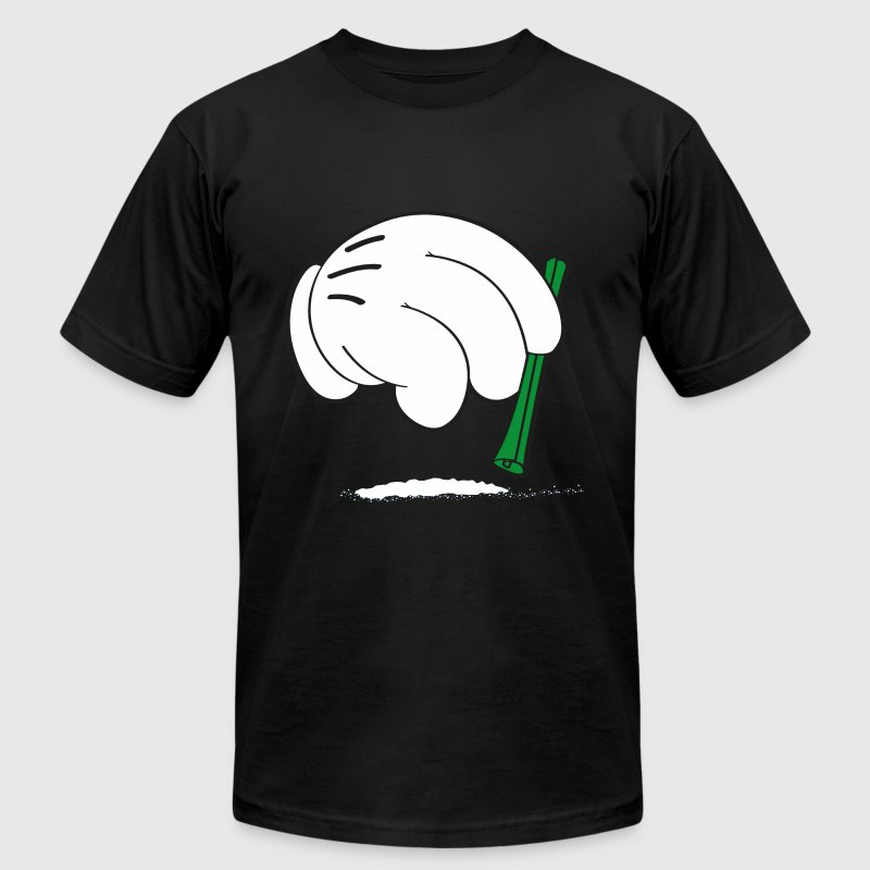 Cocaine hands T-Shirts - Men's T-Shirt by American Apparel