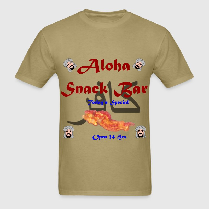 Aloha Snack Bar infidel Shirt - Men's T-Shirt