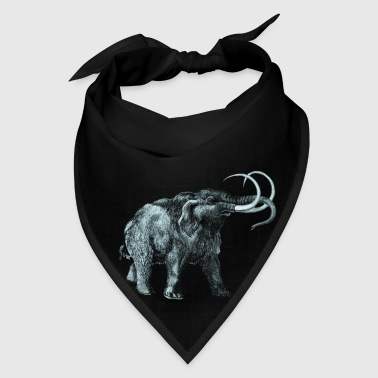 The mammoth, Primal elephants from the past. Accessories - Bandana