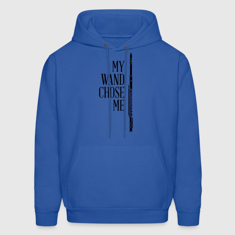 My wand chose me - flute - Men's Hoodie