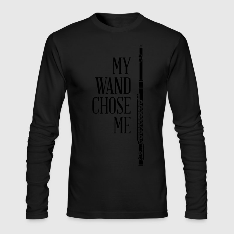 My wand chose me - flute - Men's Long Sleeve T-Shirt by Next Level