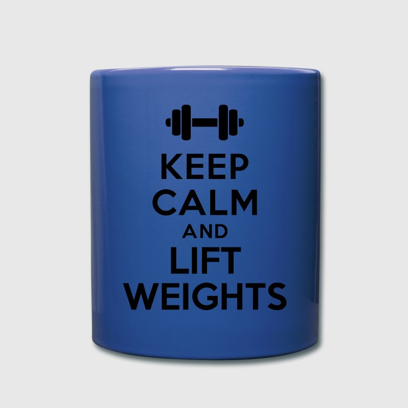 Keep calm Lift Weights Accessories - Full Color Mug