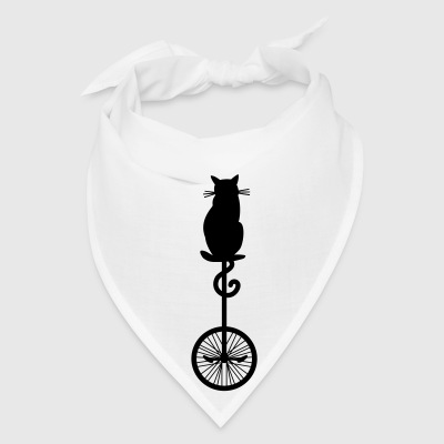 cat_unicycle Bags & backpacks - Bandana