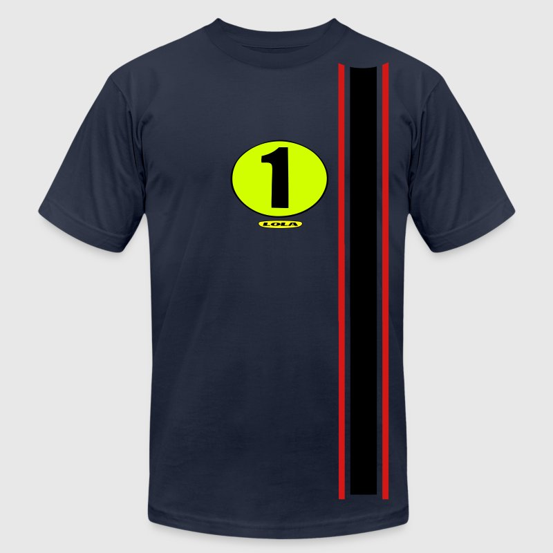 Number one - Men's Fine Jersey T-Shirt