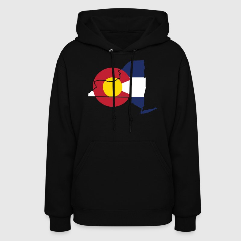New York Colorado Funny Pride Flag Apparel Hoodies - Women's Hoodie