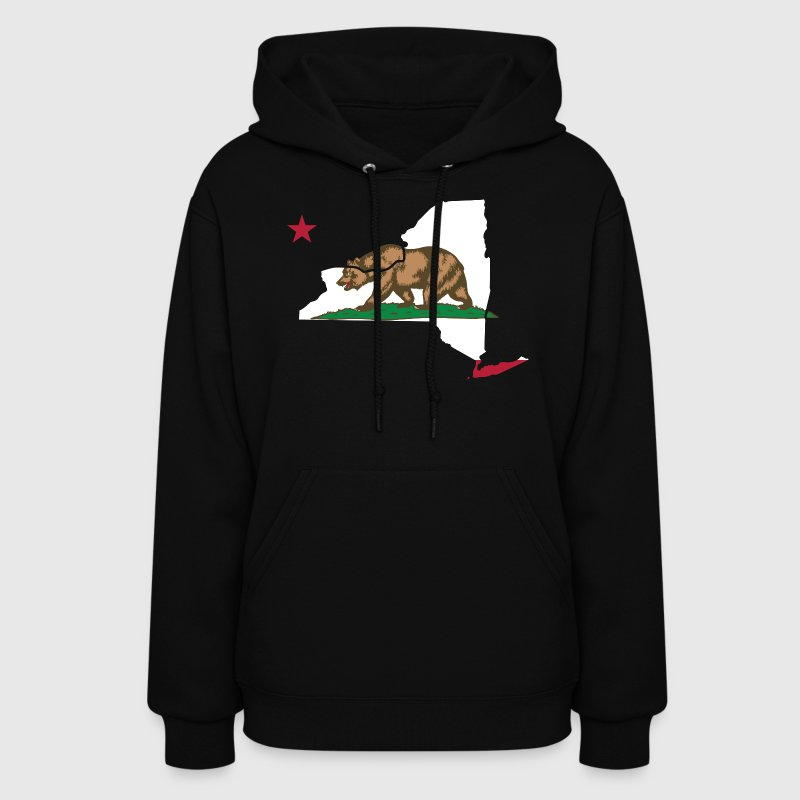 New York California Funny Pride Flag Apparel Hoodies - Women's Hoodie