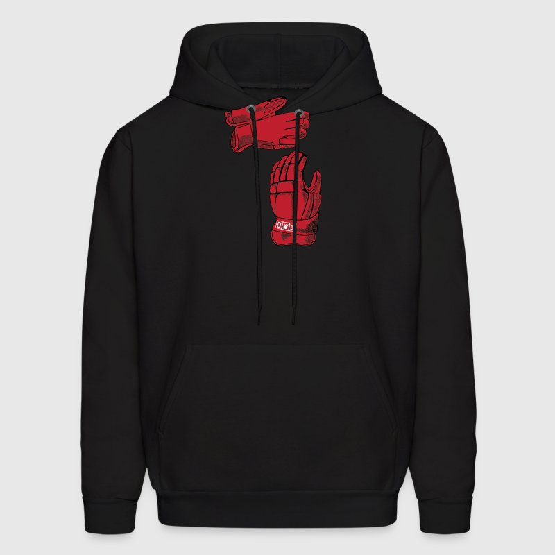 Detroit Hockey Gloves Michigan Apparel Hoodies - Men's Hoodie
