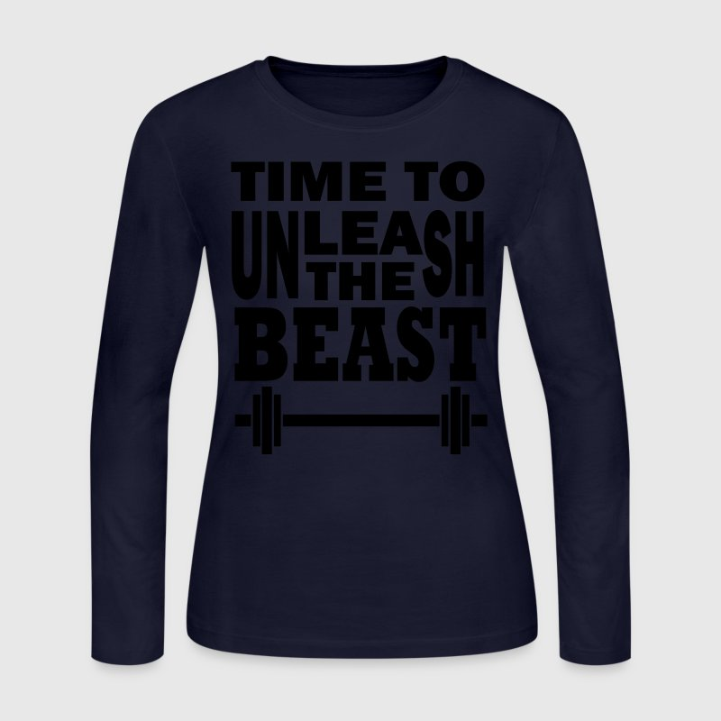 Unleash the beast Long Sleeve Shirts - Women's Long Sleeve Jersey T-Shirt